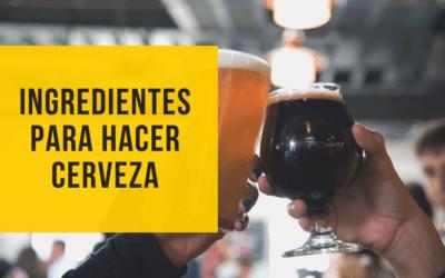 Ingredientes cerveza: cuáles son los principales en esta bebida