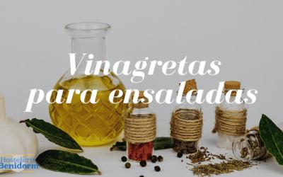 Originales vinagretas para ensaladas caseras