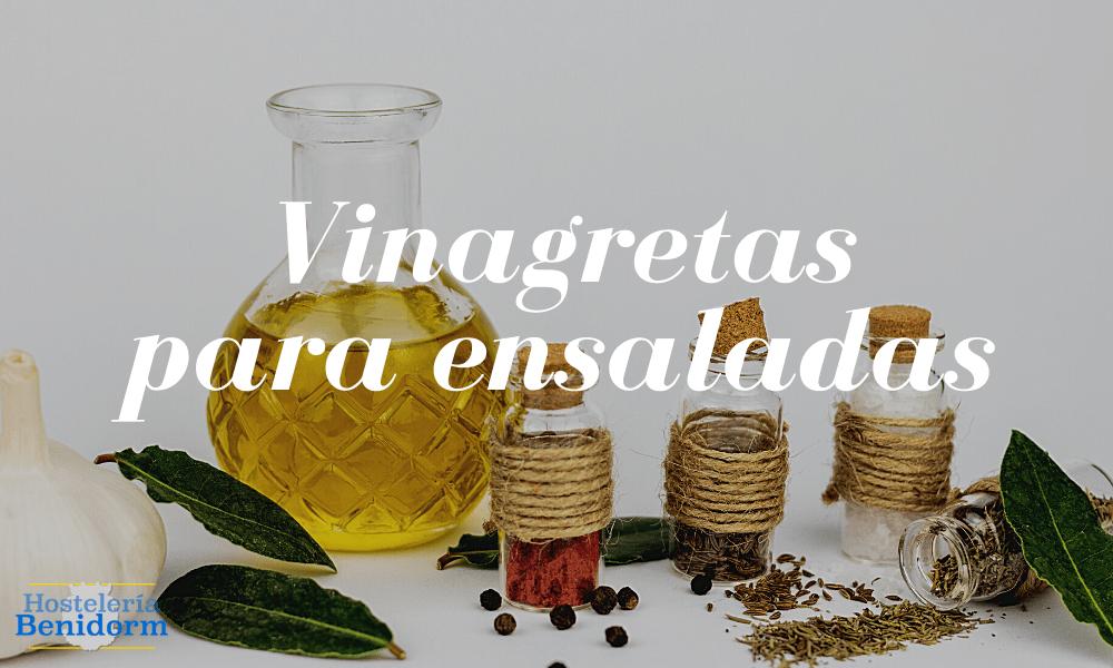 Prepara vinagretas para ensaladas con nuestras recetas