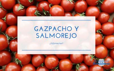 ¿Cuál es la principal diferencia entre gazpacho y salmorejo?