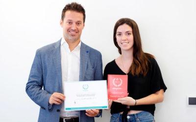 La Escuela de Hostelería Benidorm recoge el Sello Cum Laude por cuarta vez