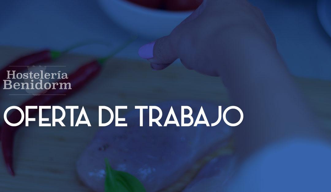 Blog de cocina hosteler a y restauraci n hosteler a benidorm - Ofertas de empleo jefe de cocina ...